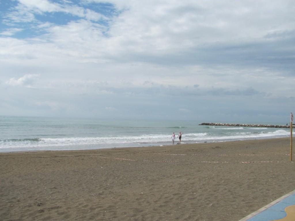 Pláž v Eraclea Mare